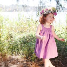Midsummer's babydoll dress in plain