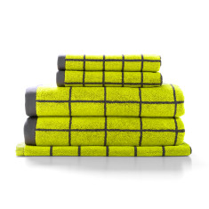 Lattice towel collection (various colours)