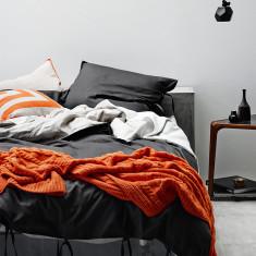 Maison graphite quilt cover