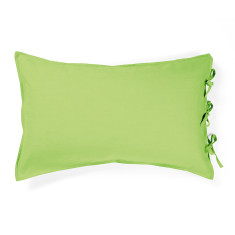 Maison pastel green standard pillowcase
