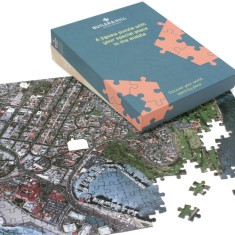 Personalised hometown jigsaw puzzle
