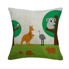 Australian animals cushion cover