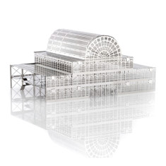 Monumini stainless steel Crystal Palace model kit