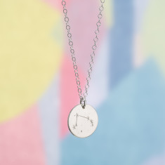 Personalised Star Sign Constellation Necklace
