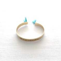 Adventure Turquoise Cuff Gold