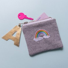 Rainbow Badge Coin Purse