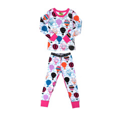 Hot Air Balloon Long John pyjama set