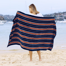 Beach Road Large beach towel