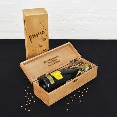 Prosecco Ho Ho Ho Wine And Champagne Gift Box
