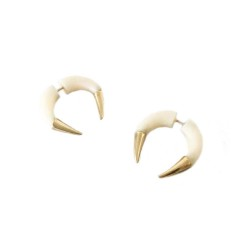 Sparkle & Bone Earrings