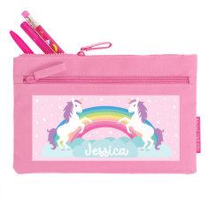 Personalised Unicorn Pencil Case
