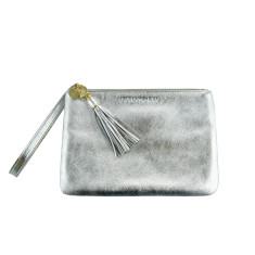 The Mia Pouch - silver
