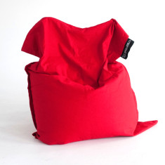 Red bean bag cover