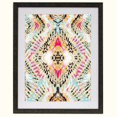 Aztec perspective art print