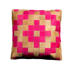Azteca cushion cover in pink