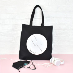 Star Sign Constellation Personalised Tote Bag