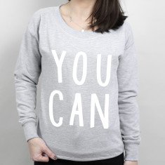You Can Women's Scoop Neck Sweater