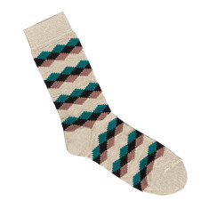 Lafitte putty bamboo socks