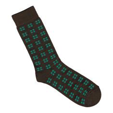 Lafitte bamboo chocolate square socks