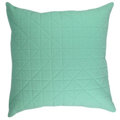 Quilted Aqua Cushion (various sizes)