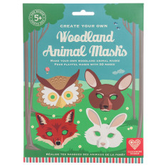 Create Your Own Woodland Animal Masks Kit