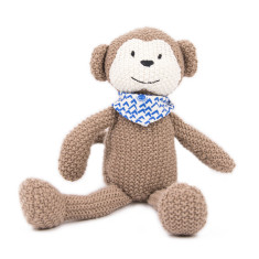 Weegoamigo Pearl Knit Toy - Monkey
