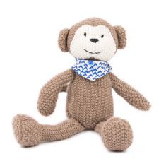 Weegoamigo Pearl Knit Toy - Monkey