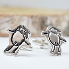 Child's Artwork Cufflinks
