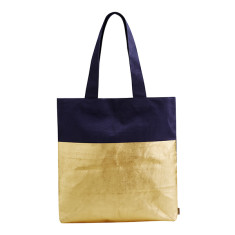 Metallic Dip Cotton Tote Bag