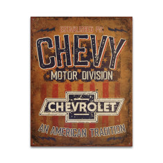 Chevy Motor Division Sign