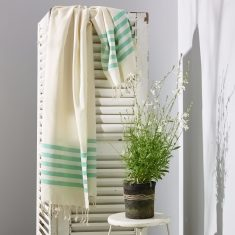 Sorrento Turkish Towel - Sea Green