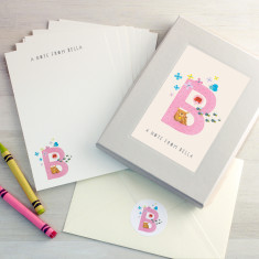 Personalised Alphabet Letter Writing Set
