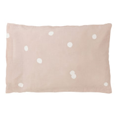 Blush happy pillowcase