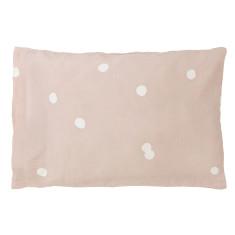 Blush happy pillowcase