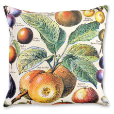 Millot Apples linen cushion cover