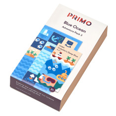 Primo Toys Adventure Pack Map And Story Book - Blue Ocean