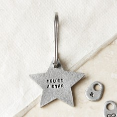 You're a Star Keyring