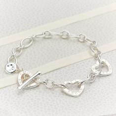 Children's Sterling Silver Signature Charm Bracelet