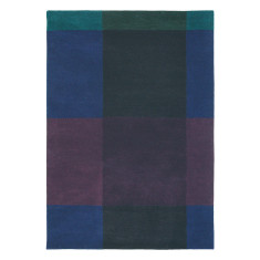 Ted Baker London Plaid Navy Rug