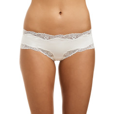Classic Lace French Hipster - Ivory