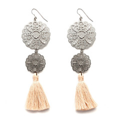 Rosa Tassel Earrings