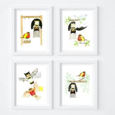 Batman & Robin Print Set - Limited Edition Fine Art Prints