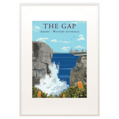 Vintage Albany The Gap print