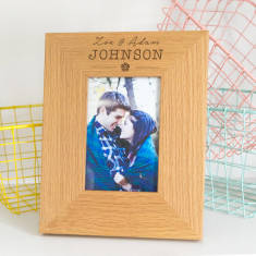 Personalised Images Wedding Photo Frame