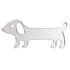 Dan the Sausage Dog Brooch