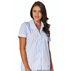 Hammonds pink women's short sleeve shirt