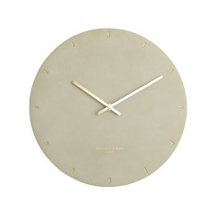 Marco Concrete Silent Wall Clock by One Six EIght London