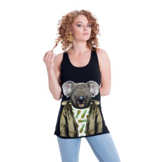 Koala women's fitted singlet