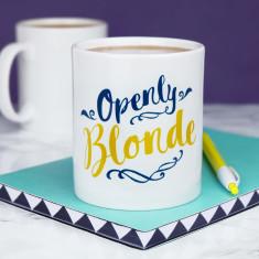 Openly Blonde Mug