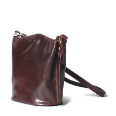 Personalised Palermo Leather Bucket Bag